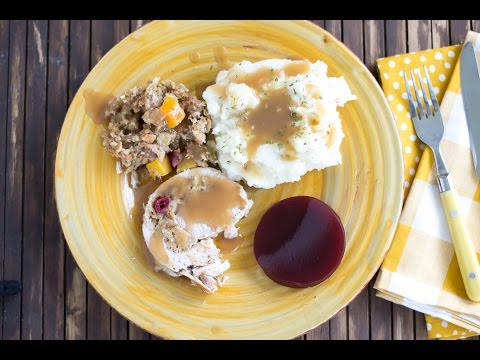Crock Pot® Slow Cooker Apple Cranberry Stuffed Pork Loin Recipe