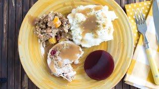 Crock Pot Slow Cooker Apple Cranberry Stuffed Pork Loin Recipe