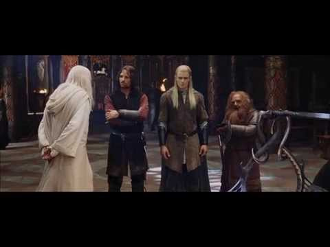 Lord of The Rings:Merry And Pippin: Pippin goes to Minas Tirith