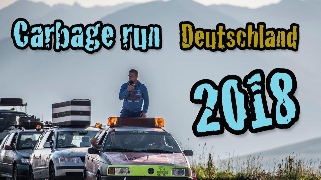 Carbage Run Deutschland 2018 Offizielle Aftermovie Youtube
