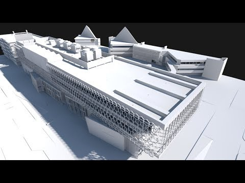 Rendering – Theme Clip of ARCHICAD 18