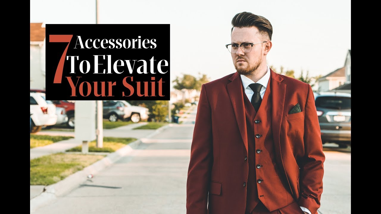 7ed0a0ccc50 Men's Style l 7 Suit Must Have Accessories l Ties.com Review - YouTube