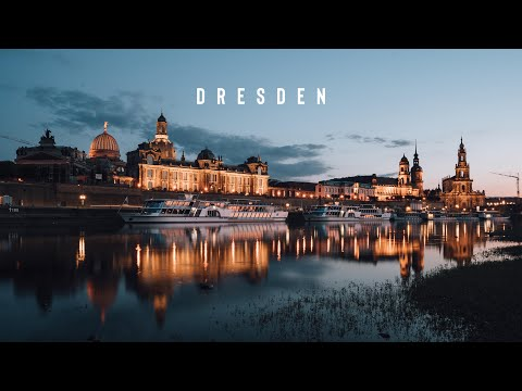 The Heart of Dresden, Germany [4K]