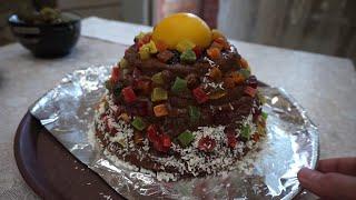 """Торт """"Шапка Мономаха"""" - авторский рецепт праздничного десерта"""