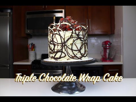 how-to-make-a-chocolate-wrap-cake- -chelsweets