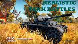 War Thunder Realistic Tank Battle with Samerrie!