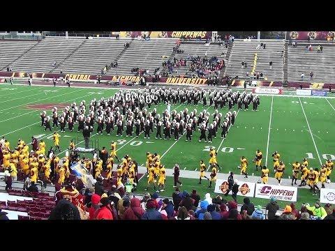 CMU Marching Band Playing: