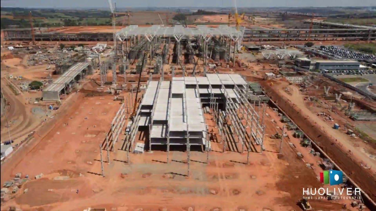 Aeroporto Viracopos : Time lapse das obras do novo terminal aeroporto