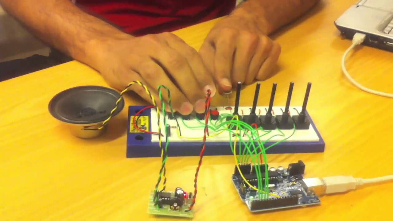 Micro sequencer' an Arduino musical instrument | Physical