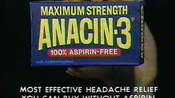 'Anacin-3'  [02] TV commercial - 1981