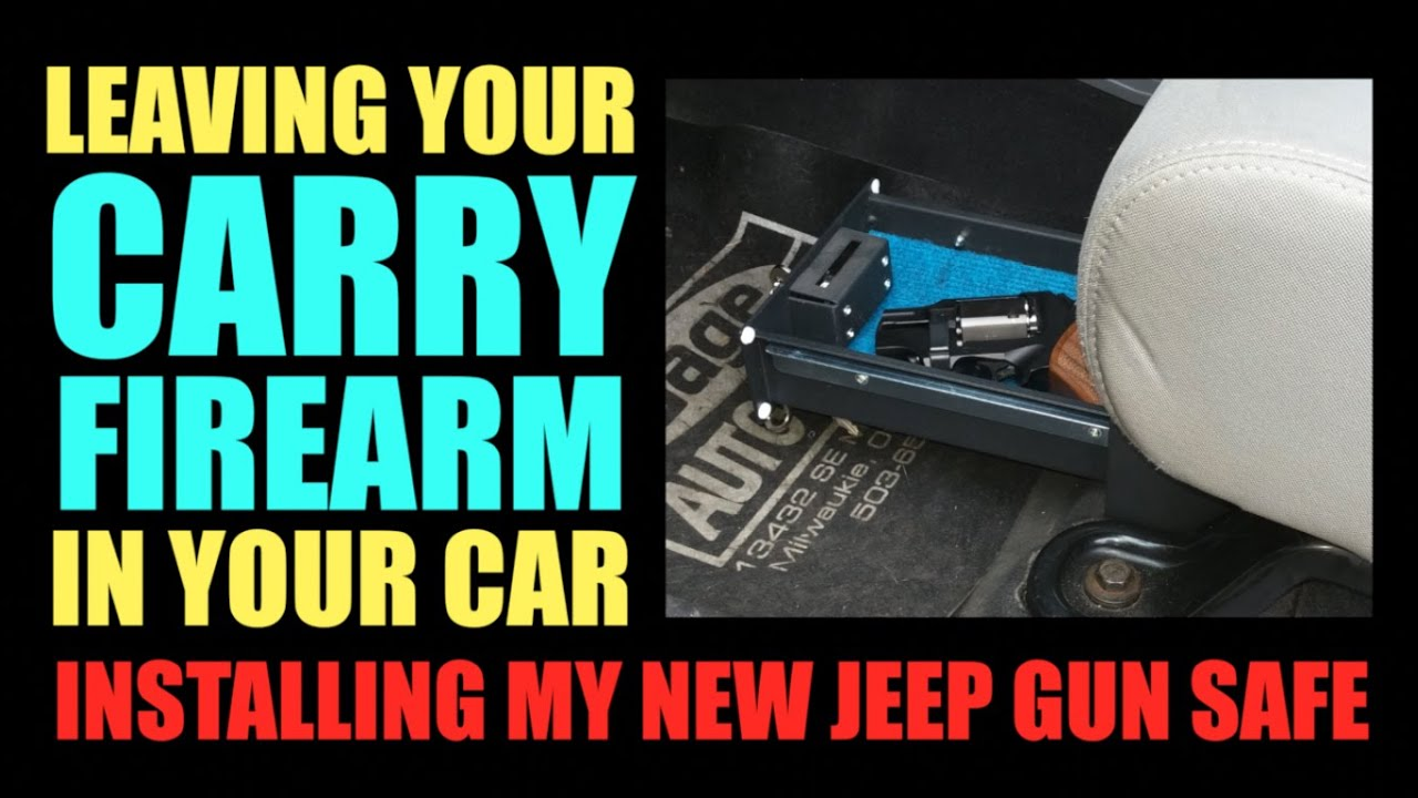 Leaving Your Gun In The Car New Jeep Gun Safe Youtube