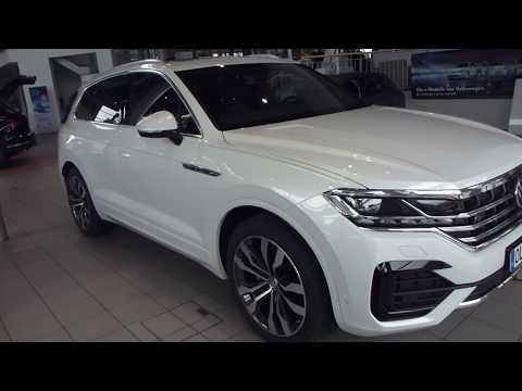 2018 VW Touareg III ''R-Line'' Exterior & Interior 3.0 TDI 286 Hp 235 Km/h 146 Mph