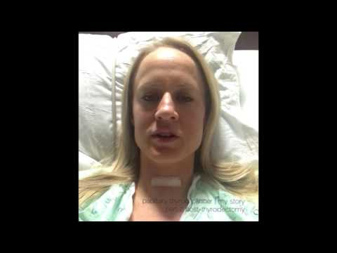 papillary thyroid cancer | my story, part 2 waking up after thyroidectomy surgery