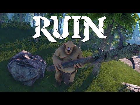 Ruin update Jan 2018 | Footage, shield, sword, prison