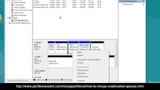 Allocate Unallocated Space with MiniTool Partition Wizard