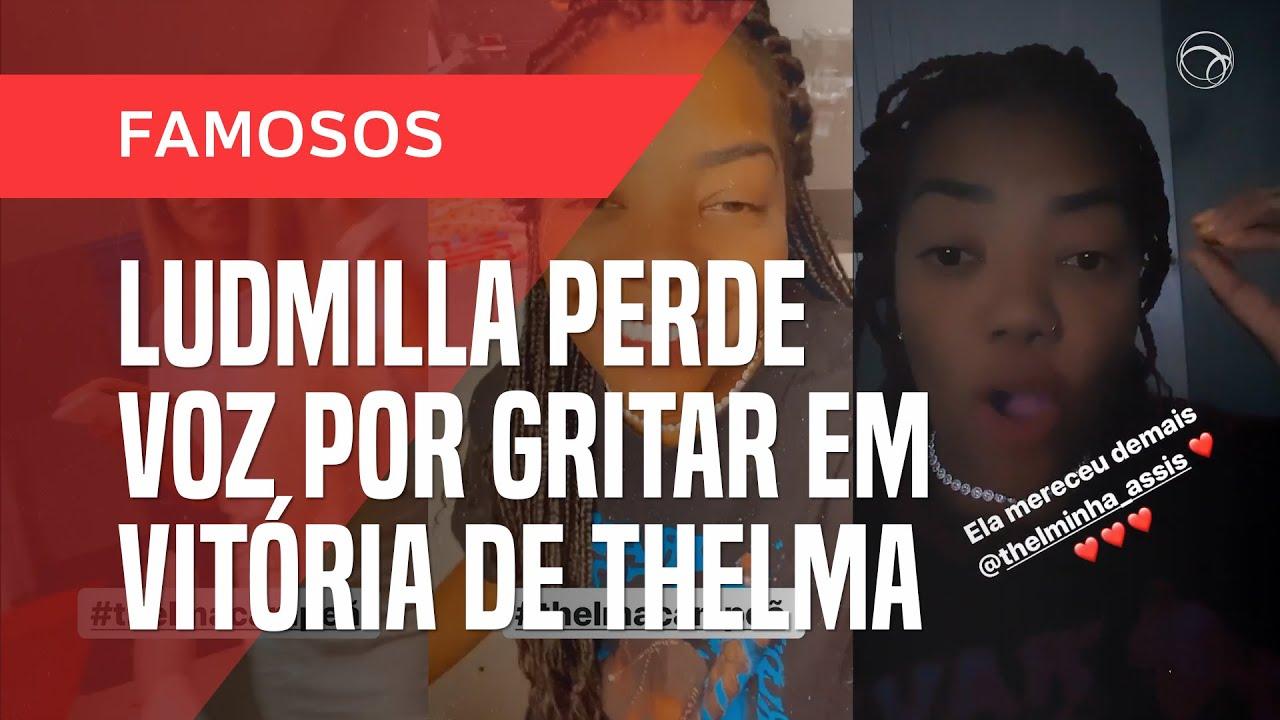 Notícias - BBB 20: LUDMILLA FICA ROUCA DE TANTO GRITAR COM VITÓRIA DE THELMA - online