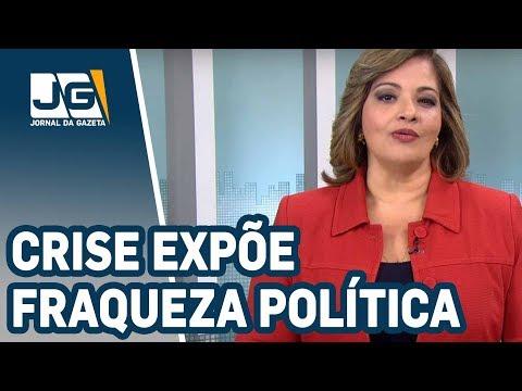 Denise Campos de Toledo/Crise expõe fraqueza política do governo
