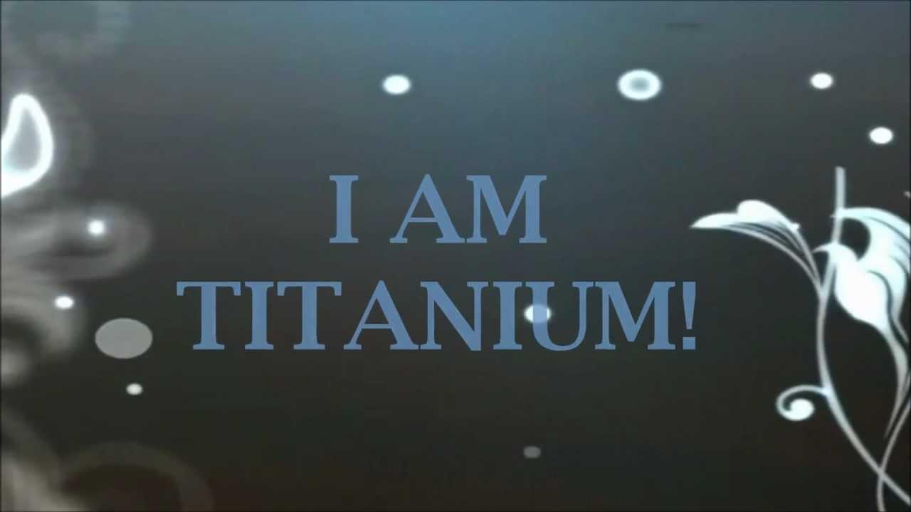 Titanium - David Guetta feat Sia (Lyrics) - YouTube