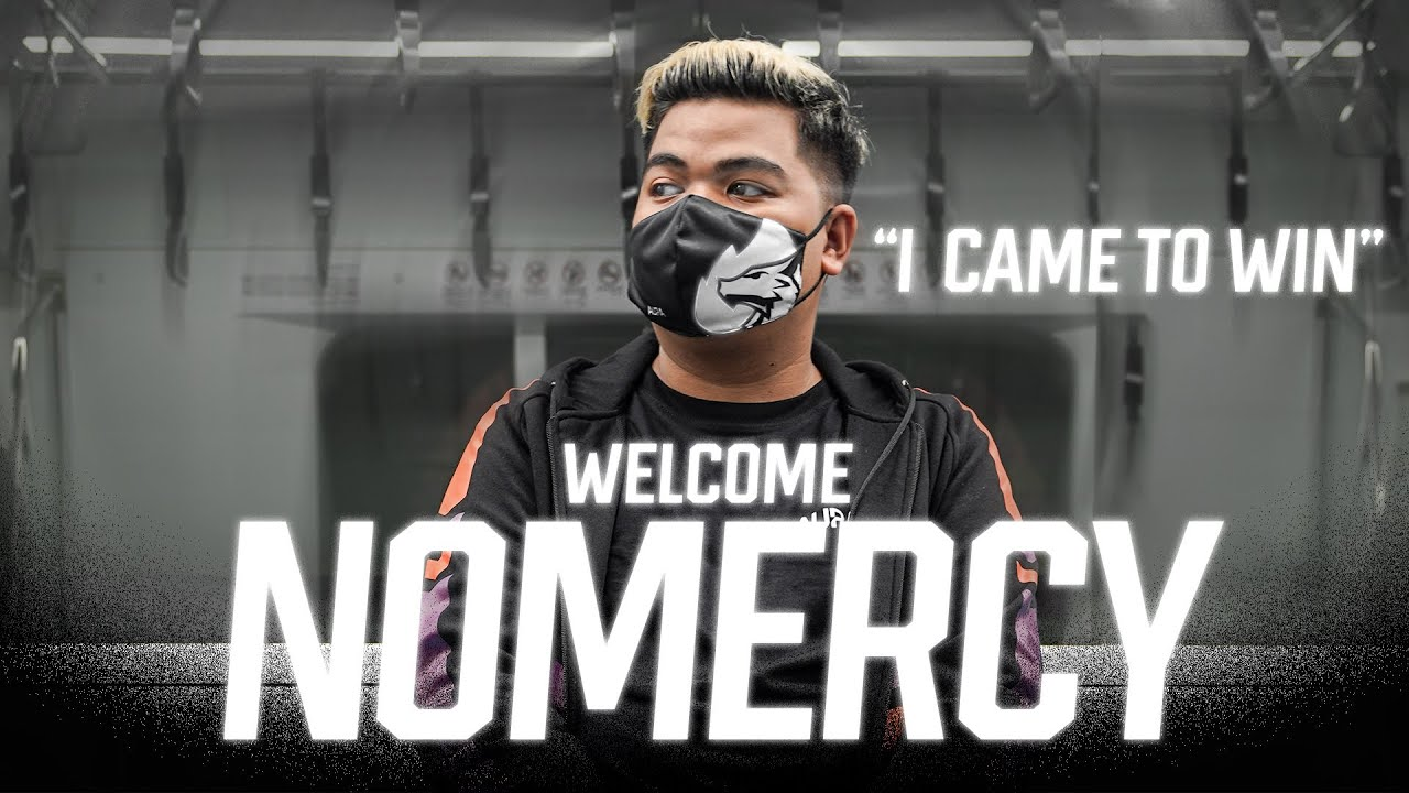 """WELCOME AURA NOMERCY """"I CAME TO WIN"""""""