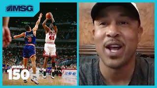 John Starks Talks Knicks-Bulls Rivalry, Michael Jordan & The Last Dance   MSG 150