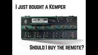 Q&A: Should I buy a Kemper Remote?