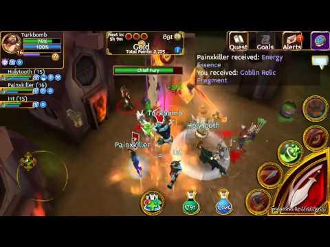 Arcane Legends - Goblin 2015 Kill Chief Fury