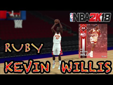 NBA 2K18 MYTEAM | RUBY KEVIN WILLIS DEBUT