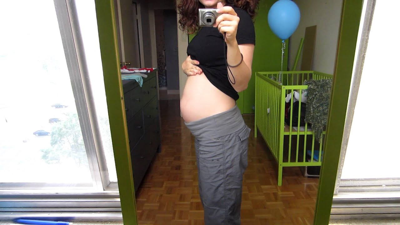 23 Weeks Pregnant Belly Shot It s a BOY
