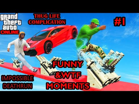 GTA V WTF & FUNNY MOMENTS | GTA V ONLINE WTF & FUNNY MOMENTS | GTA ONLINE THUG LIFE MOMENTS #2