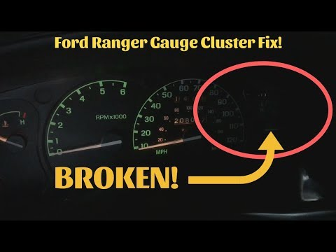 How To Replace Gauge Lights 2002 Ford Ranger!