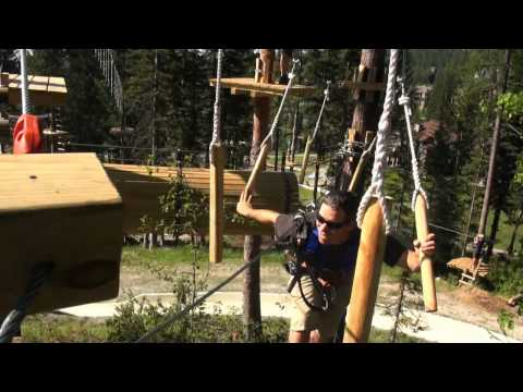Aerial Adventure Park At Whitefish Mountain Resort