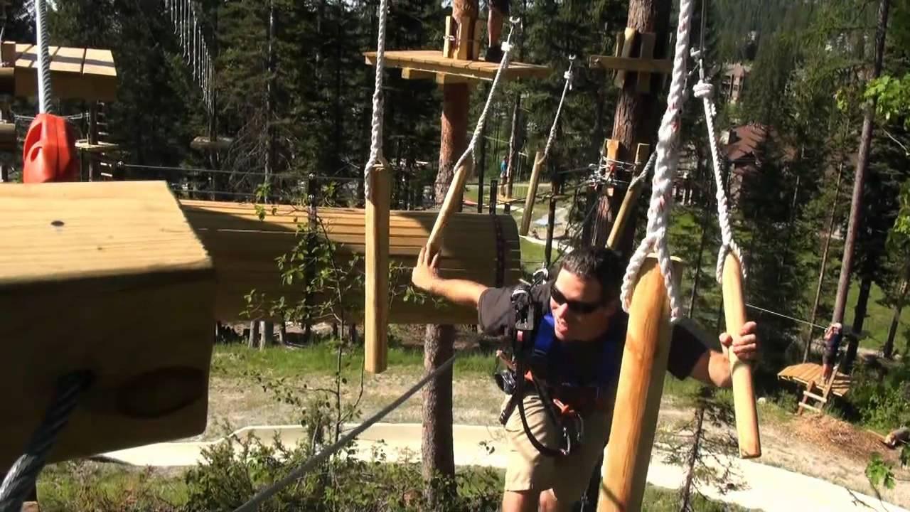 Aerial Adventure Park At Whitefish Mountain Resort Youtube