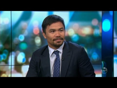"Manny Pacquiao LIVE ""Let it Go"",Duterte,UFC & Jeff Horn Fight Australian Tv Interview April 27, 2017"