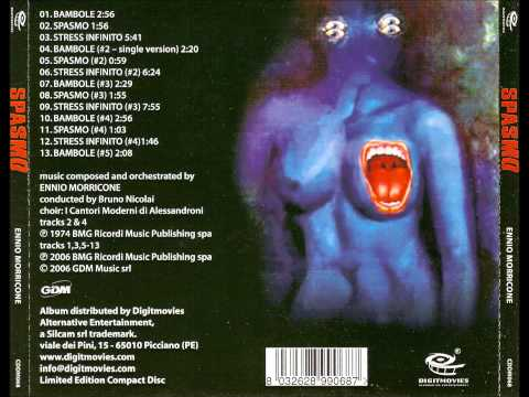 Ennio Morricone – Spasmo (Original OST, Giallo, 1974) Full