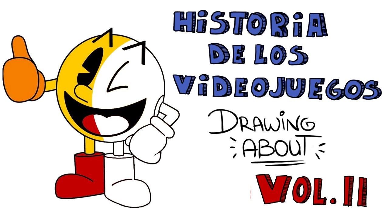 HISTORIA DE LOS VIDEOJUEGOS Vol.2 | Drawing About
