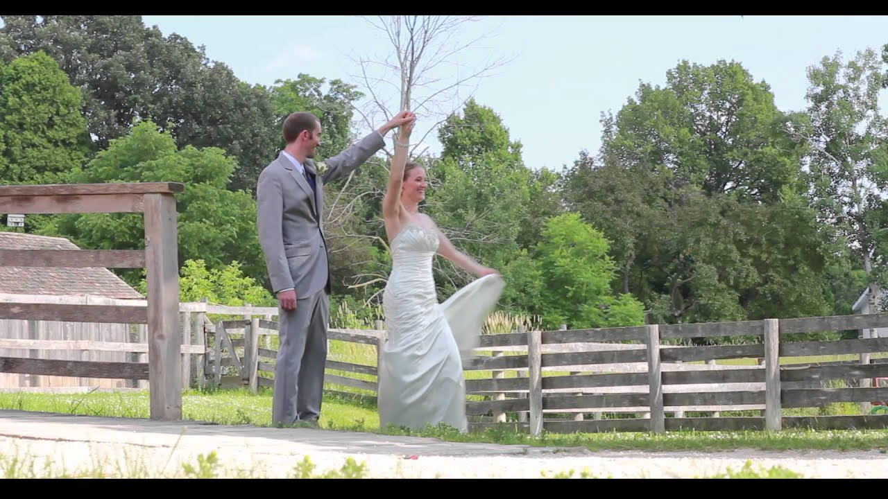 Shannon Ben Wedding Film Ii Heritage Hill State Historical Park
