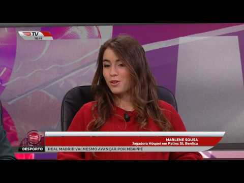 Sport Lisboa e Modalidades 22 Mar 17 Hóquei Feminino