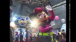 【Tokyo Disneyland × 千葉県フェスティバル】スーパーダンシンマニアミニステージ -2000/06/10_ Super Dancin'mania mini stage