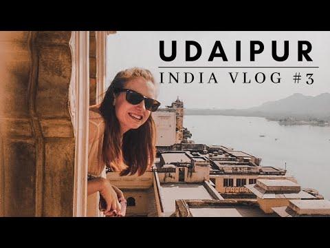 Udaipur part 2 - Palace wanders & monsoon sunsets   India Travel Blog #3