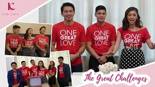 The Great Challenges w/ One Great Love Casts & Director | Kim Chiu PH