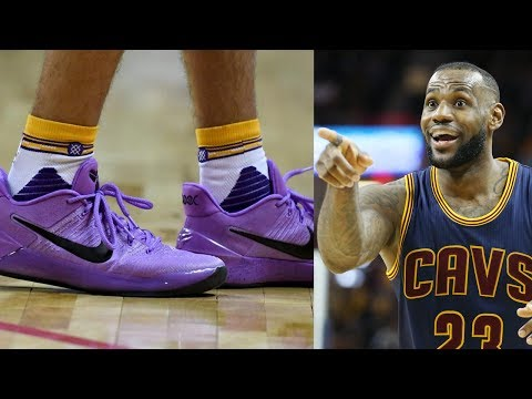 LeBron James Comments on Lonzo Ball Ditching ZO2