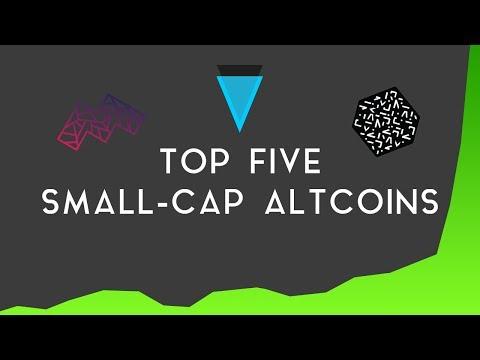 TOP FIVE SMALL-CAP ALTCOINS