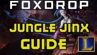 Diamond In-depth Jinx Jungle Guide | League Of Legends Season 3