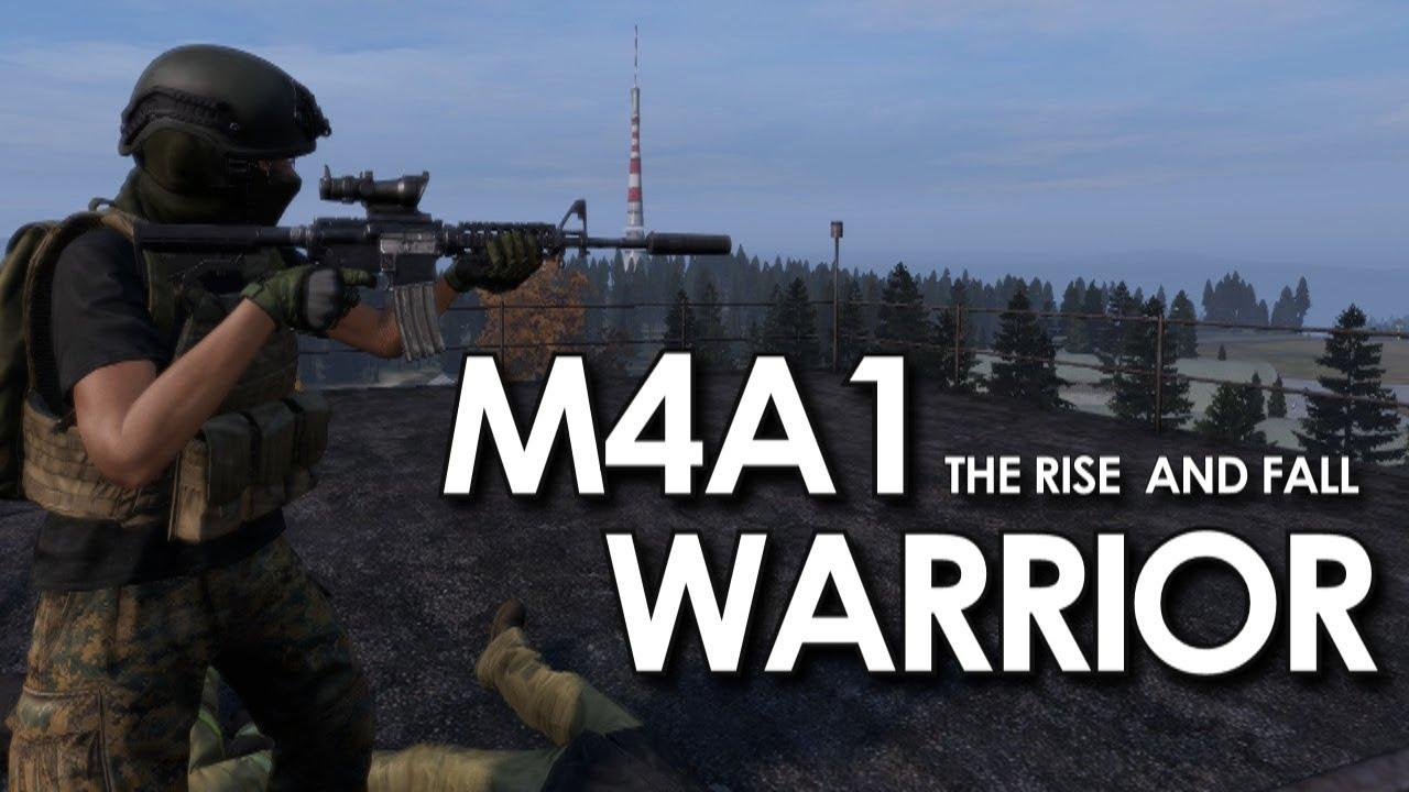 M4A1 WARRIOR Runs DEER ISLE (New map) - DAYZ 1 03
