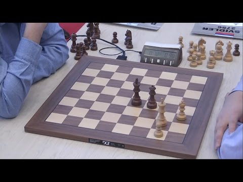 Amazing Promotion Chess Game!! - Peter Svidler Beats Boris Gelfand - Blitz Chess Tal Memorial 2014