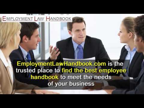 Find The Best Employee Handbook California - Employmentlawhandbook.com