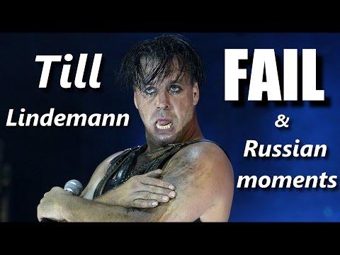 Till Lindemann  FAIL & Russian moments ┃RockStar FAIL