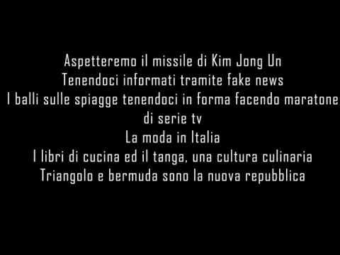 J-AX e FEDEZ - ITALIANA TESTO