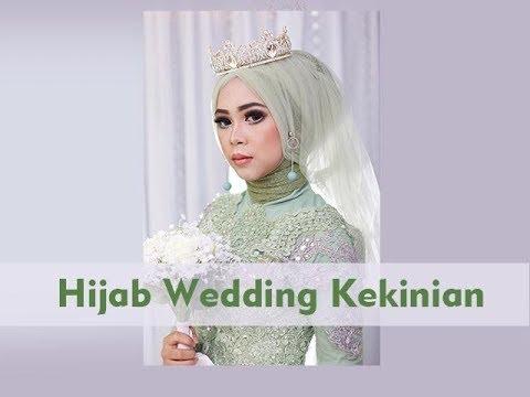 Tutorial Hijab Wedding Tren 2018 Simple Youtube