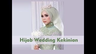 Tutorial Hijab Wedding Tren 2018 (Simple)